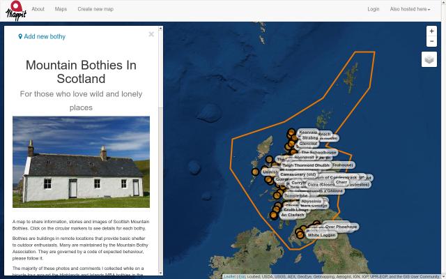 Mountain Bothies in Scotland screenshot