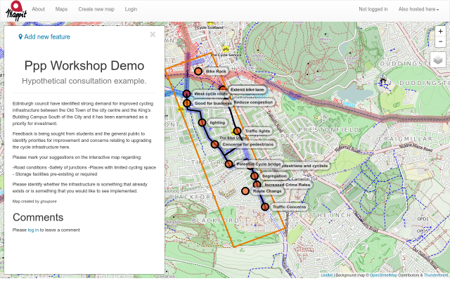 PPP Workshop Demo screenshot